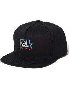 GORRA THE QUIET LIFE FLAGPOLE SNAPBACK WHITE