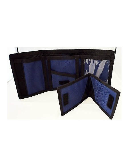 CARTERA REAL TRIFOLD BLUE