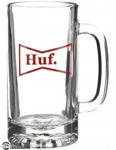 PITCHER HUF DRINK UP MUG CLEAR