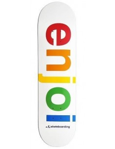 "TABLA ENJOI SPECTRUM WHITE R7 8"""