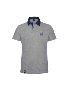 POLO NOMAD CROWN GRIS AZUL