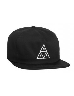 GORRA HUF TRIPLE TRIANGLE NEGRA
