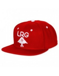 GORRA LRG RESEARC GROUP ROJO