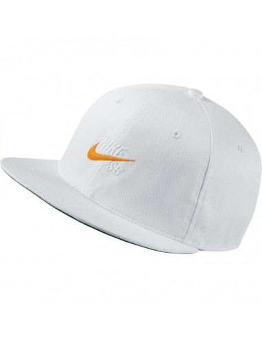 GORRA NIKE SB PRO VINTAGE HAT WHITE ORANGE 15be03e8978