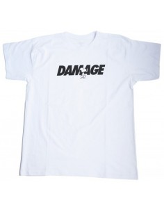 CAMISETA DAMAGE SNOOPY BLANCO