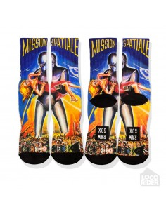 Raw Sox Mission Spatiale Socks