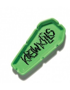 KREW COFFIN ASHTRAY GREEN
