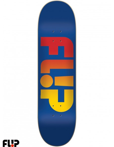 Flip Skateboards Faded Royal 7.75
