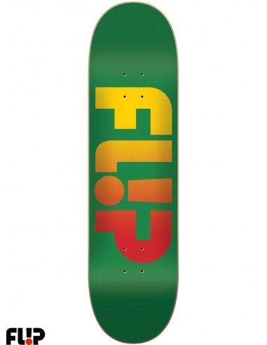 Flip Skateboards Faded Green 7.81