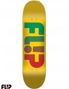 Flip Skateboards Faded Yellow 8.0