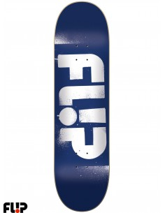 Flip Skateboards Stencil Blue 8.0