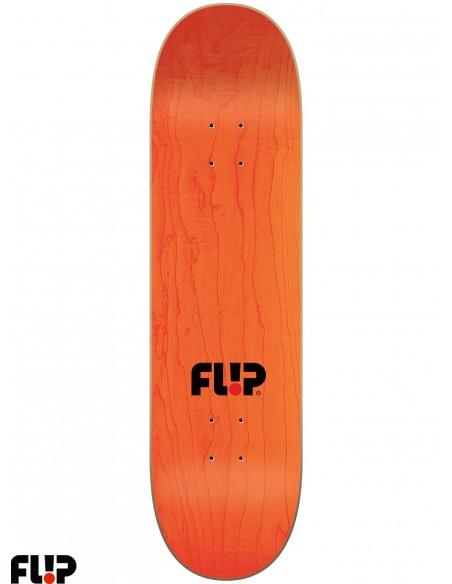 Flip Skateboards Stencil Red 8.13