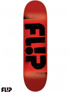 Flip Skateboards Stencil Red 8.13