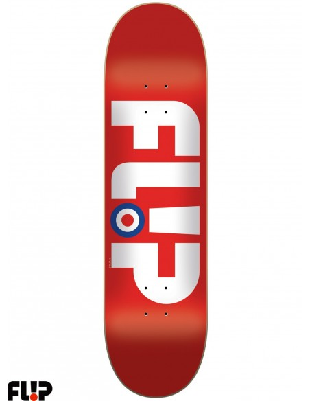Flip Skateboards Modyssey Red 8.13