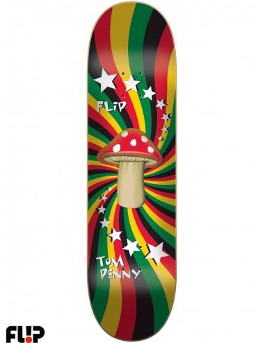 Flip Skateboards Penny Rasta Shroom 8.25