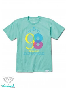 Diamond Supply Brilliant Sounds Tee Blue