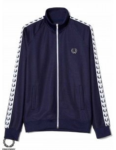Fred Perry Sports Authentic Taped Track Bleu