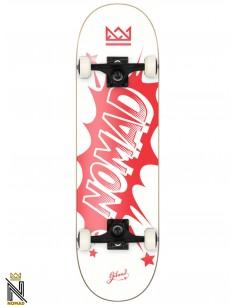 Nomad Skateboards Banger Red 7.75