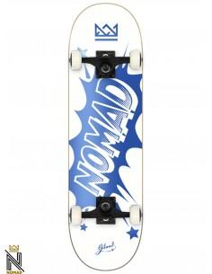 Nomad Skateboards Banger Blue 7.75