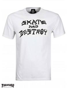Thrasher Skate And Destroy Blanca