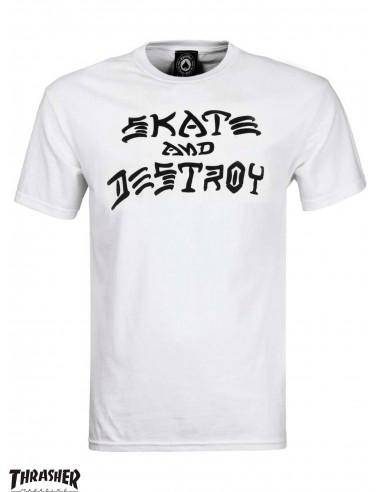 Thrasher Skate And Destroy White