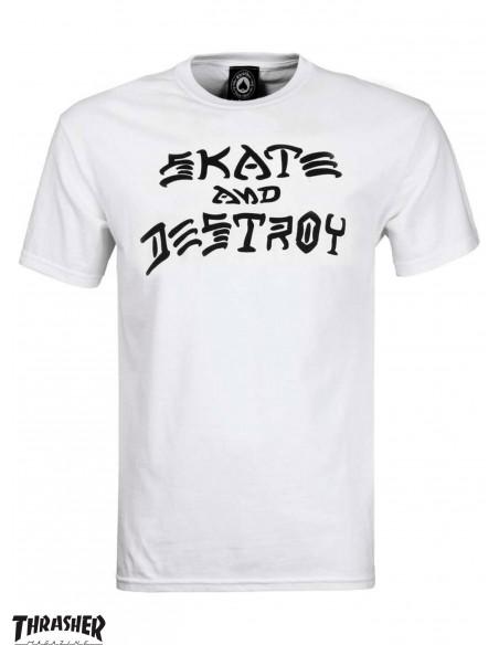Thrasher Skate And Destroy Weiß
