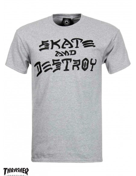 Thrasher Skate And Destroy Gris