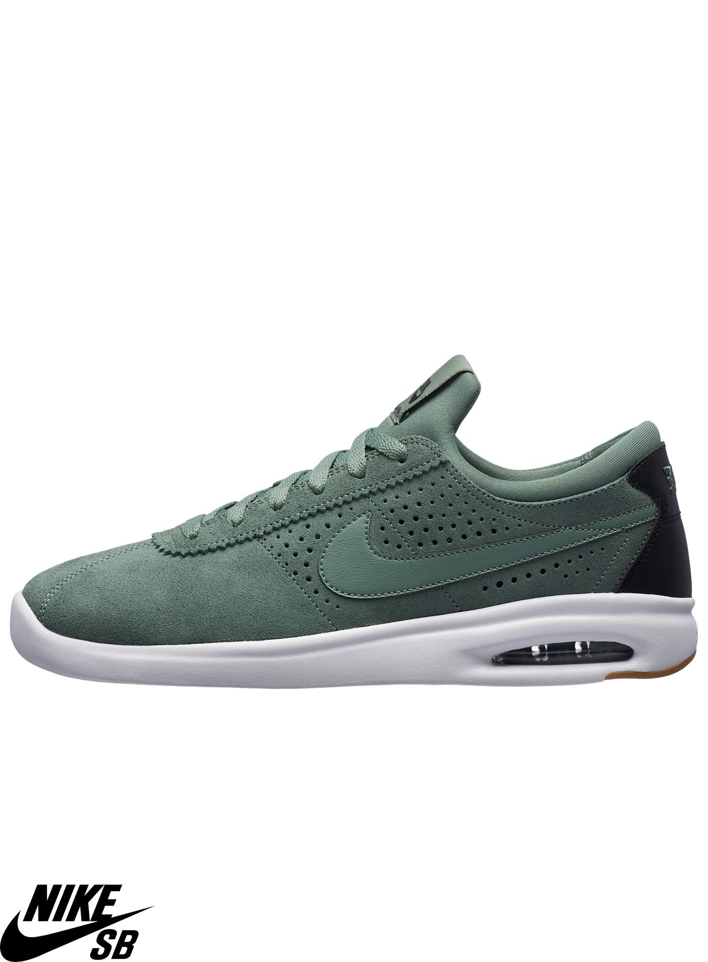 low priced 6febb 5091d Nike SB Air Max Bruin Vapor Clay Green Skate Shoes