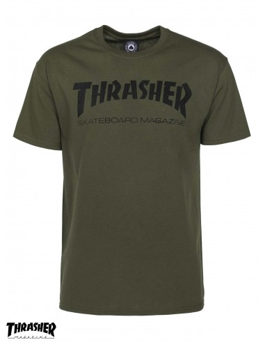 Shirt Green Army Mag T Thrasher WHY2D9IeEb