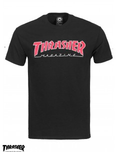 Thrasher Mag Outline Red T-Shirt ... 7be5eed6a1d