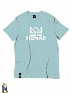Nomad Tee Crown Icy Blue White