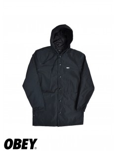 Obey Wellington Parka Black