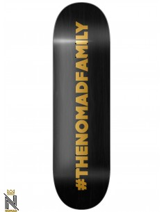 Nomad Skateboards Hashtag Black 8.25