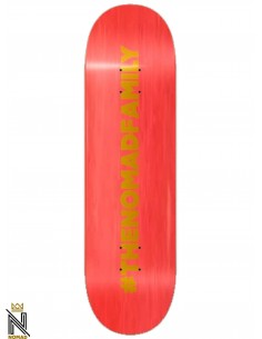 Nomad Skateboards Hashtag Red 8.5