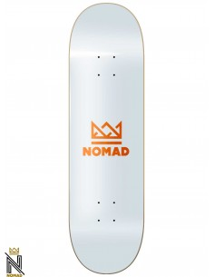 Nomad Skateboards Crown Orange 7.75