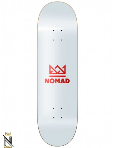 Nomad Skateboards Crown Red 8.5