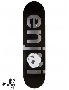 Enjoi Skateboarding No Brainer Silver 8.0