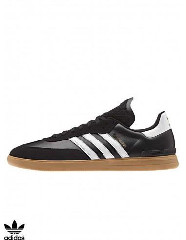 6354ec017 Adidas Samba ADV Black / Gum Skate Shoes