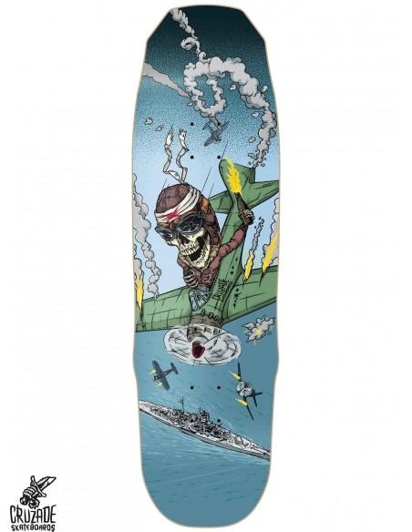 Cruzade Skateboards Kamikaze 9.1