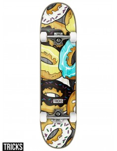 Skate Completo Tricks Skateboards Donuts 7.375