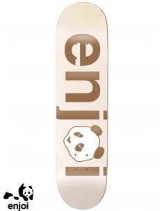 Enjoi Skateboarding No Brainer Gold 7.75