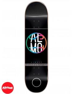 Almost Skateboards Color Crash Black 8.0