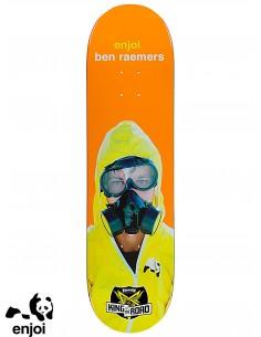 Enjoi Skateboarding No Brainer Yellow Pink 7.75