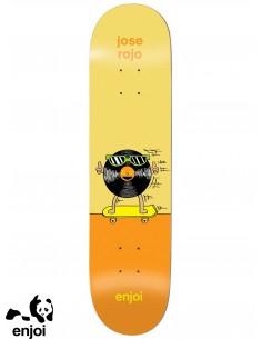 Enjoi Skateboarding Dingleballdom Rojo 8.25