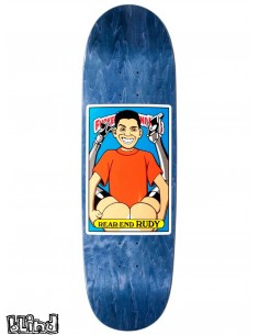 "Blind Skateboards Heritage FUBK Rear-End Rudy 8.98"" SP"