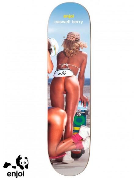 Enjoi Skateboarding Slick Chicks Berry 8.25