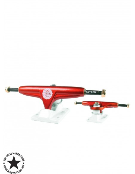 Iron Trucks Red 5.0 Low