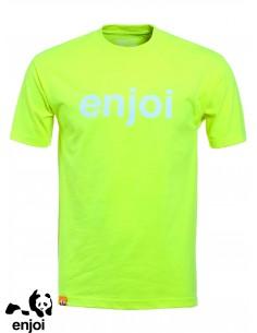 Enjoi Helvetica Logo Lime