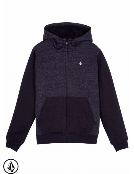 Volcom Single Stone Lined Zip sulfur noir