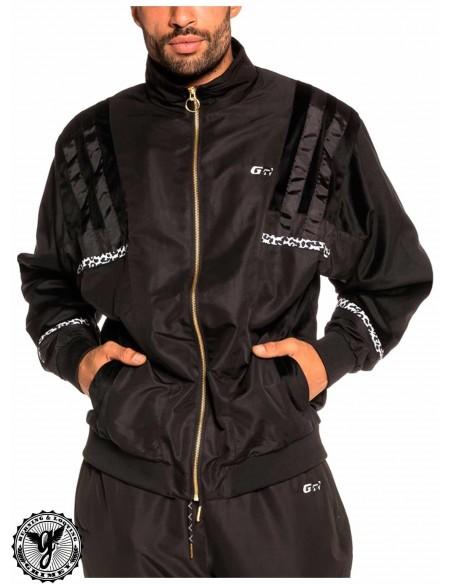 Grimey Nemesis Track Jacket Negro